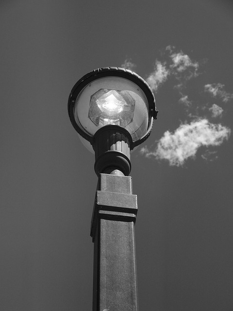 crashes into light pole