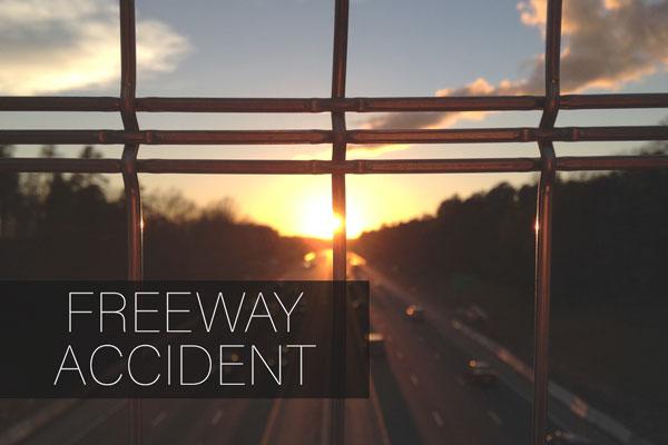 Off-ramp-accident