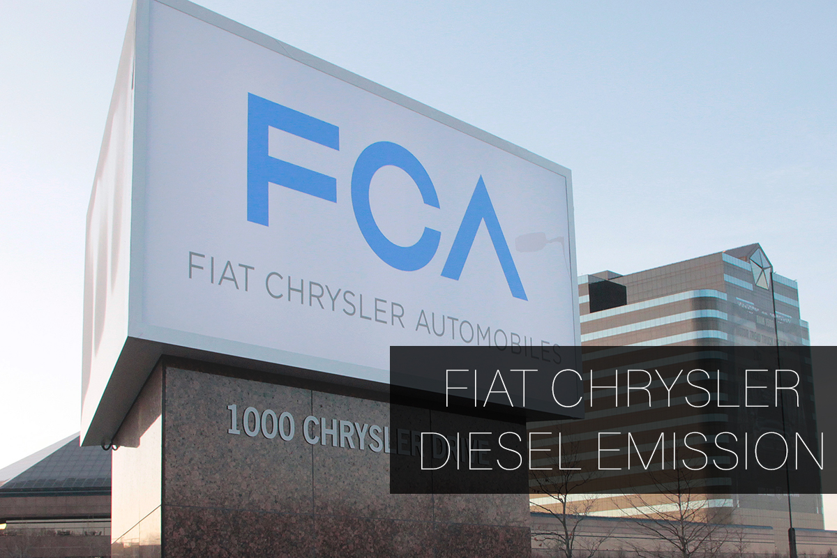 Fiat Chrysler Cheated Diesel Emissions