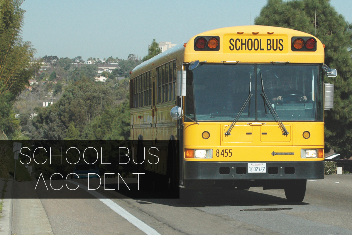1 Injured After a School Bus Accident in South L.A.