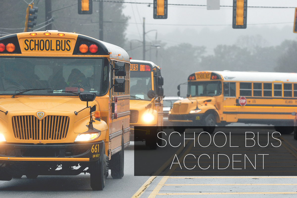 10 Students Injured in a School Bus Accident in Lancaster