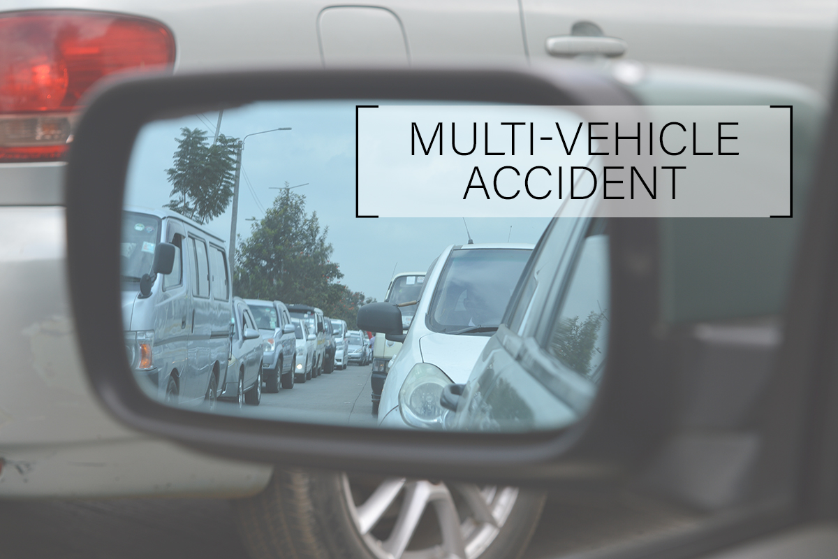 Four Injured in Multi-Vehicle Accident on 22 Freeway