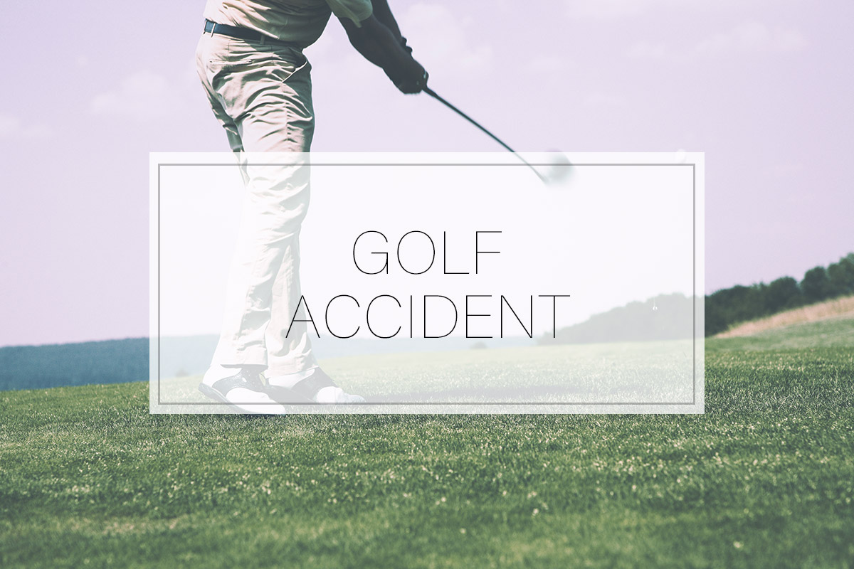 FORE: Suffering a Golf Accident